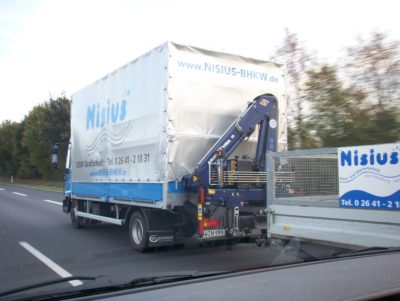 Nisius BHKW Transport